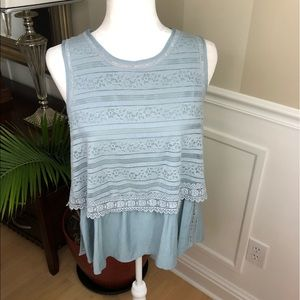 Altar'd States Sleeveless peplum too